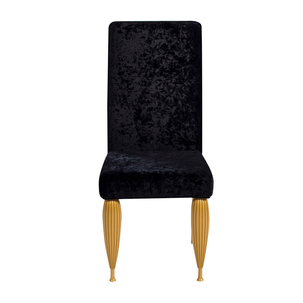 CALCUTTA MOGUL DINING CHAIR - BLACK