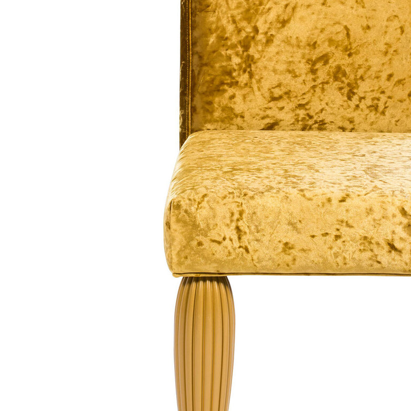 CALCUTTA MOGUL DINING CHAIR - GOLD