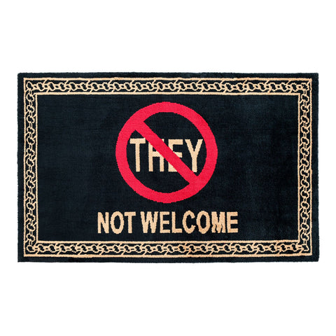 STAY AWAY WELCOME MAT