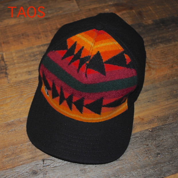 TAOS-LUX ECO BALL CAP-Limited Edition. One of a kind. Upcycled & Recycled. Unisex.