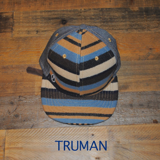 TRUMAN-LUX ECO BALL CAP-Limited Edition. One of a kind. Upcycled & Recycled. Unisex.