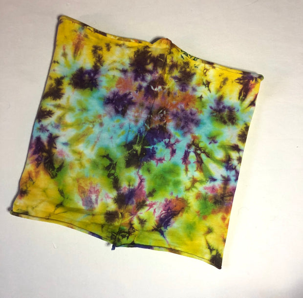 "Eclipse Tie-Dye- Organic Cotton ""Infinity"" Face Covering"