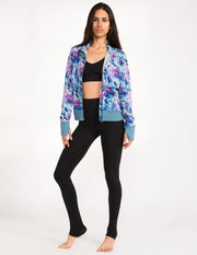 Kali Jacket - Sea Mist Painters Dream Print - Jackets