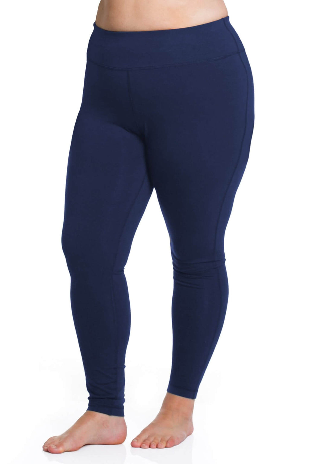 Curve Basix Leggings Navy