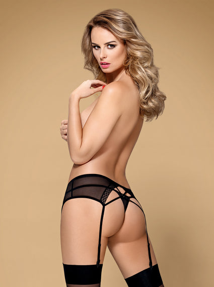 855-GAR-1- Garter Belt & Matching Thong