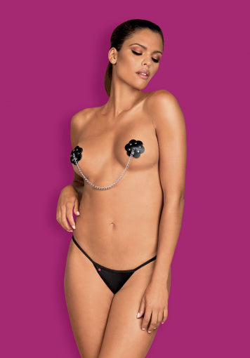 A748 - Nipple Covers With A Chain
