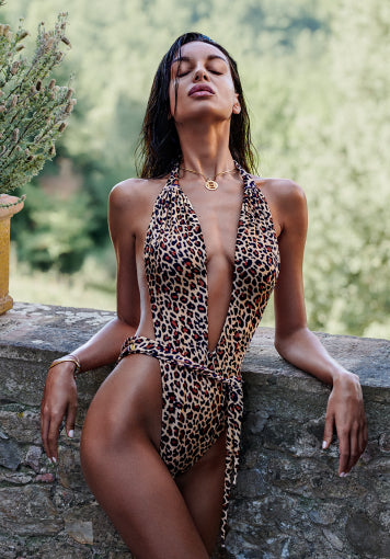 Cheetah One-Piece Swimsuit