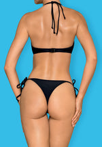 Costarica - Black Strappy Thong Bikini