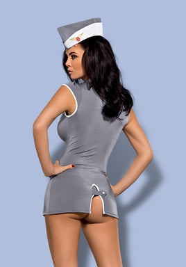 Seductive Stewardess 3-Piece Costume