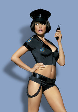 Naughty 6-Piece Police Officer Costume