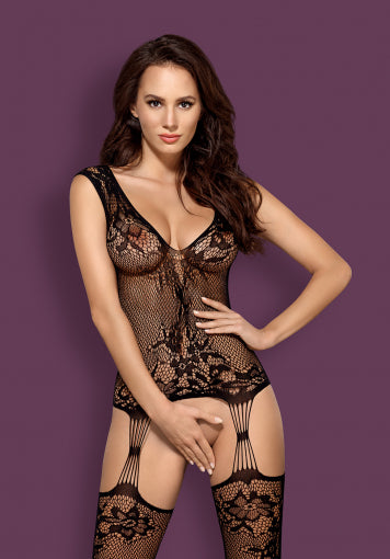 F221 - Lacey Bodystocking