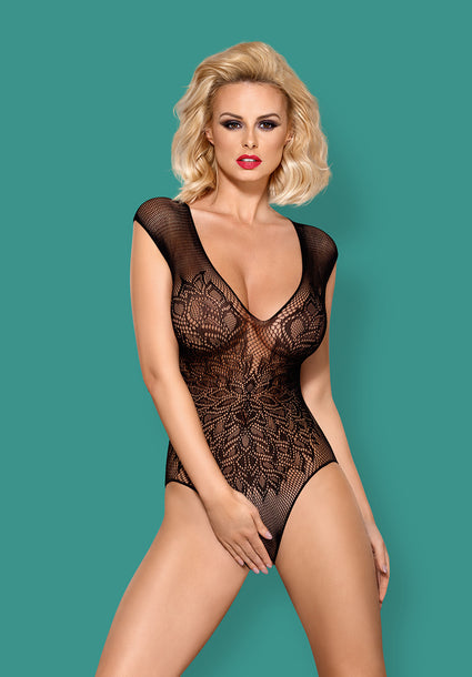 B112 - Seductive Crotchless Teddy
