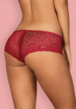 Lividia  - Red, Lace Shorties