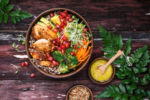 Healthy Meal Prep Recipes: Power Grain Bowl