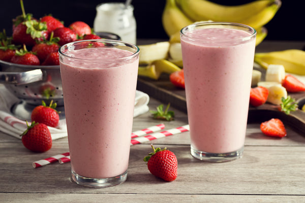 Healthy Meal Prep Recipes: Strawberry Smoothie