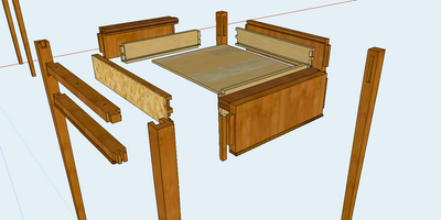 Two End Tables and a Mortising Jig - Week-long
