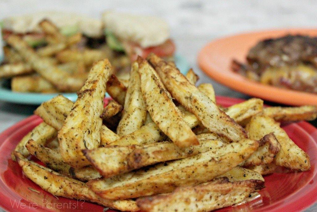 Hot Air Fryer Recipes - Homemade French Fries