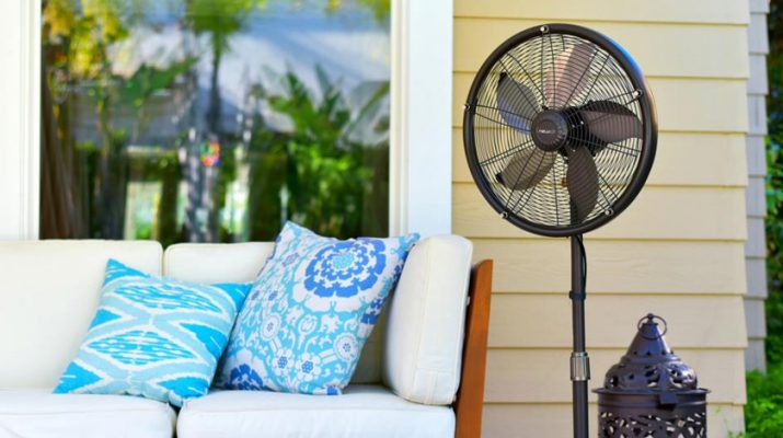 Benefits Of Owning A Home Misting Fan