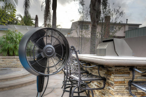 The NewAir AF-520B Patio Misting Fan costs less than $130. - This Is How You Pick The Best Patio Misting Fan – NewAir
