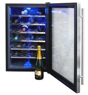 How Thermoelectric Wine Coolers Work | NewAir on cooler switch diagram, cooler radio, water cooler dispenser diagram, cooler dimensions, swamp cooler diagram, cooler system, cooler parts diagram, evaporative cooler diagram, cooler compressor, cooler motor, cooler coil,