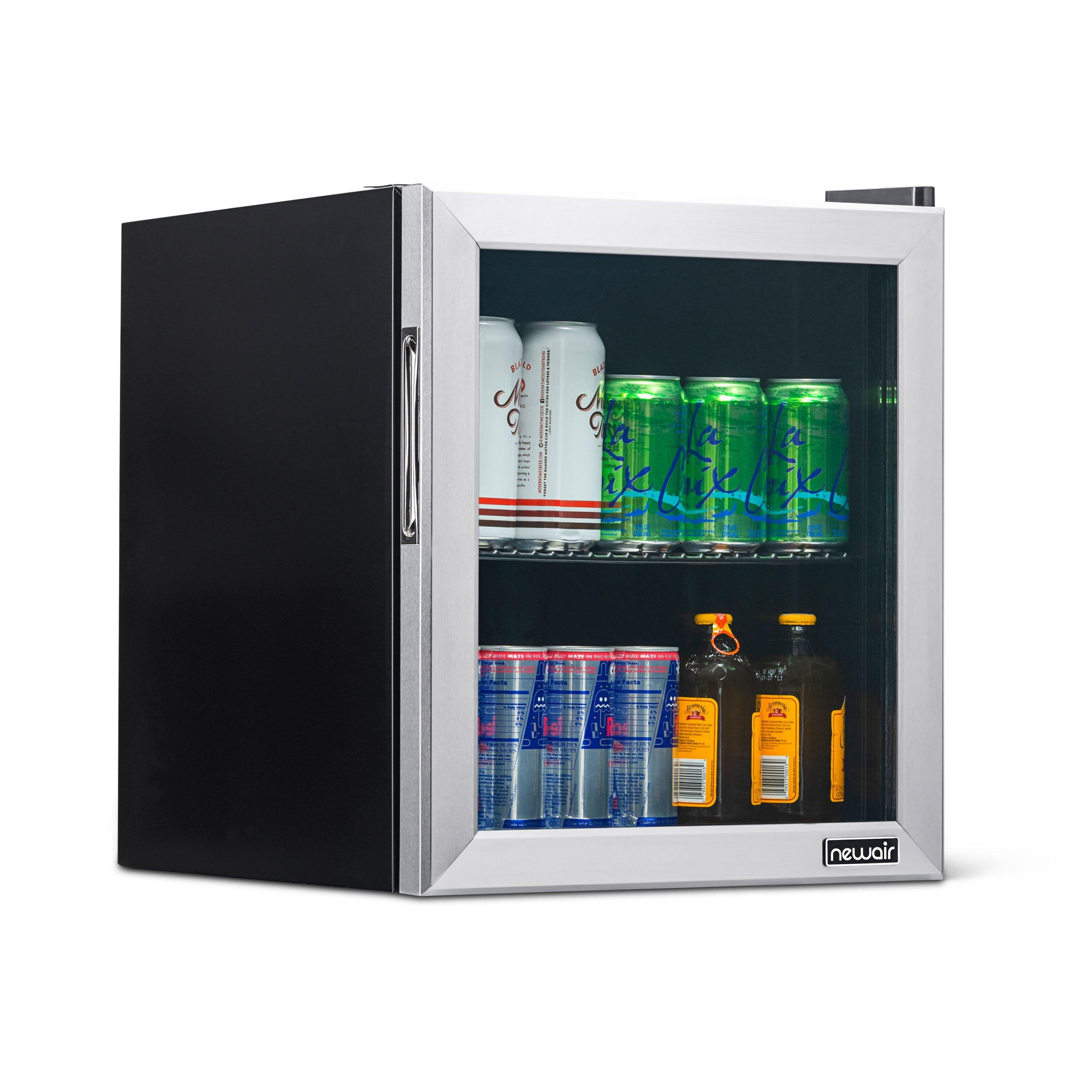 Newair 60 Can Beverage Cooler Compact Mini Fridge Chills Down To 34