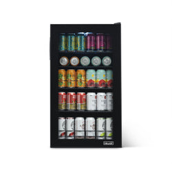 "Remanufactured NewAir ""Beers of the World"" Custom Designed 126-Can Beer Fridge"