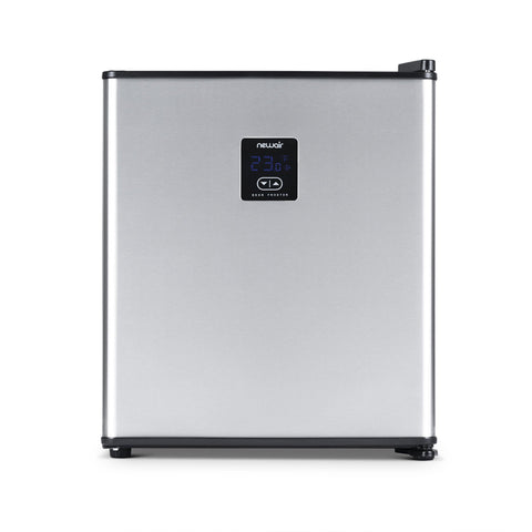 NewAir Froster 46 Can Freestanding Mini Beer Fridge in Stainless Steel