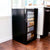NewAir 126 Can Freestanding Beverage Fridge in Black with Adjustable Shelves AB-1200B