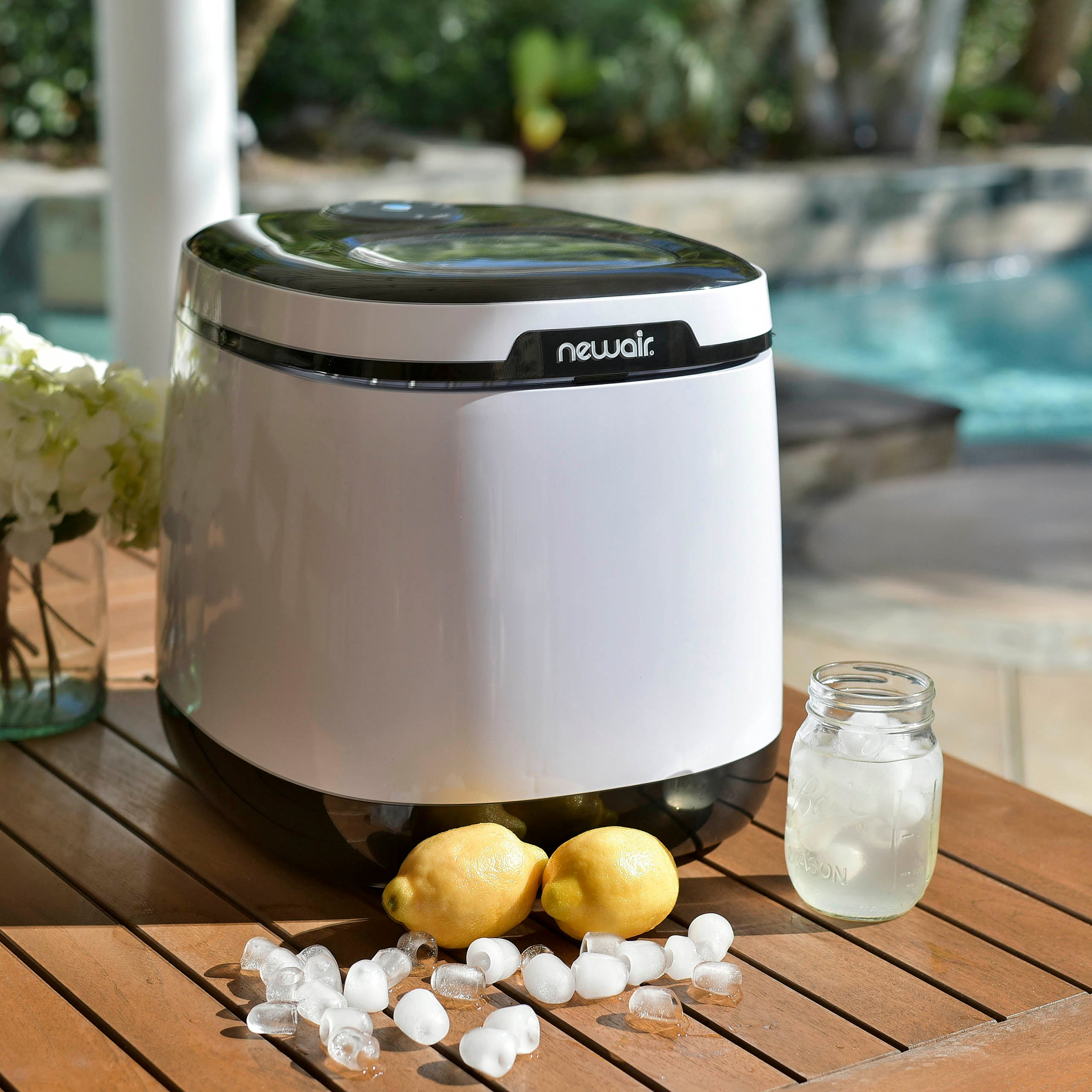 Newair Countertop Ice Maker 50 Lbs Of Ice A Day Free Shipping