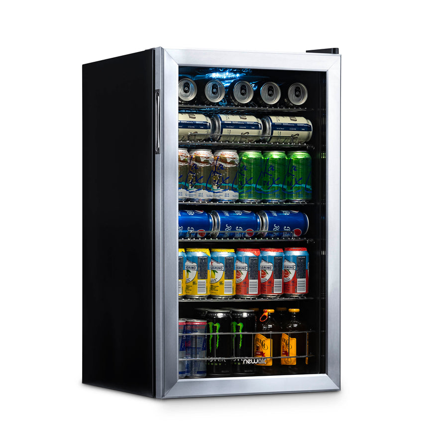 newair ab 1200 126 can beverage cooler stainless steel