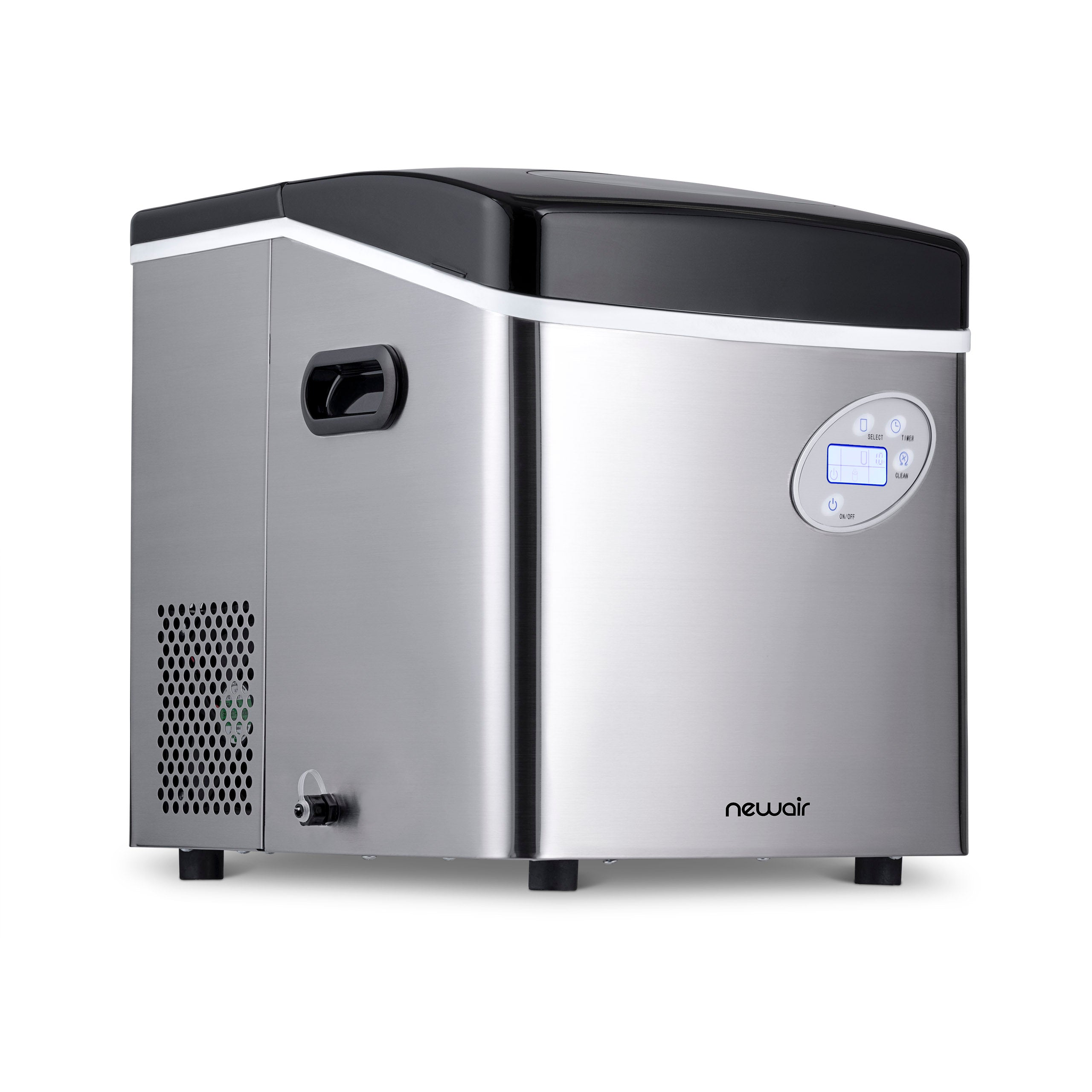 Newair Portable Ice Maker 50 Lbs Of Ice Day Countertop Ice Machine Newair