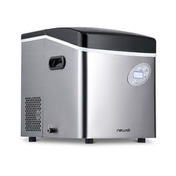 Remanufactured NewAir Countertop Ice Maker, 50 lbs. of Ice a Day, 3 Ice Sizes