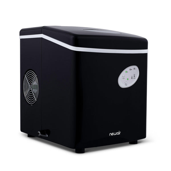 Black NewAir Countertop Ice Maker, 28 lbs. of Ice a Day