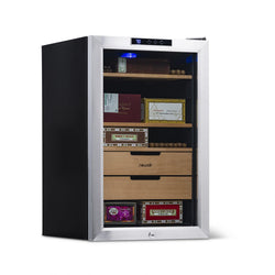 Remanufactured NewAir 400 Count Cigar Humidor, Climate Controlled with Opti-Temp™