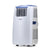NewAir Portable Air Conditioner and Heater, 14,000 BTUs (8,600 BTU, DOE), Cools 525 sq. ft.