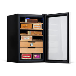 NewAir 400 Count Cigar Humidor with Precision Temperature Control