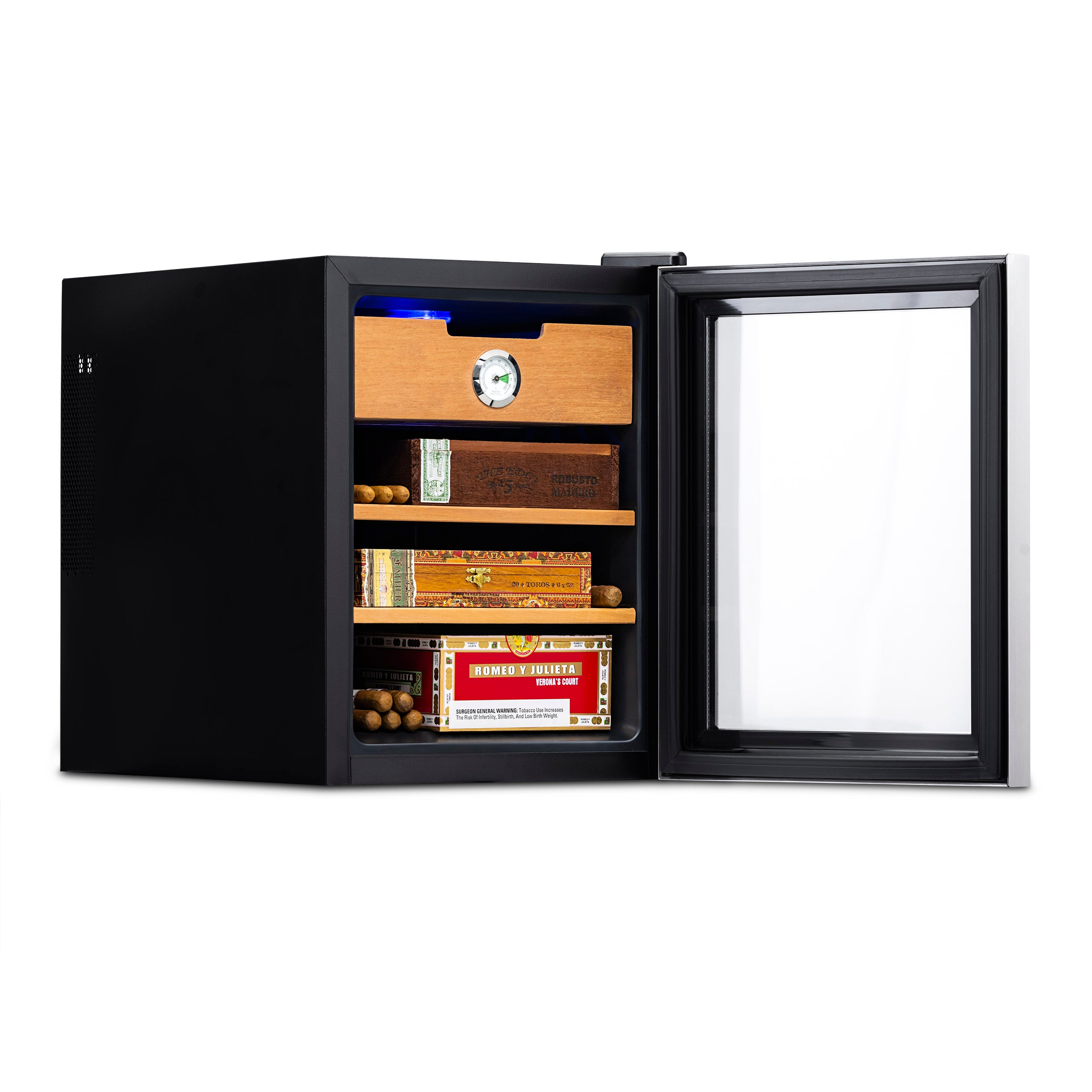 Newair Climate Controlled Electronic Humidor 250 Count Cigar Cooler
