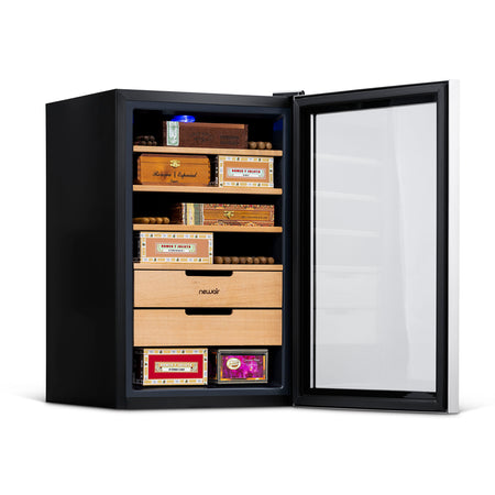 NewAir 400 Count Cigar Humidor, Climate Controlled with Opti-Temp™