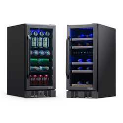 "15"" Built-in Beverage & Wine Fridge Bundle"
