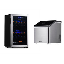 Date Night Wine Fridge & Ice Maker Bundle