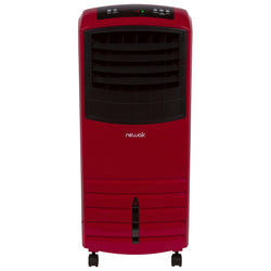 NewAir 2-in-1 Evaporative Cooler and Fan, 300 sq. ft. with Large 21 qt. Water Tank and Easy Glide Casters in Red