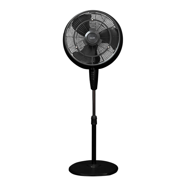 NewAir Outdoor Misting Fan and Pedestal Fan Combination, 500 sq. ft. with 3 Fan Speeds and Wide Angle Oscillation, Connects Directly to Your Hose