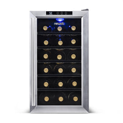 Blemished NewAir 18-Bottle Stainless Steel Thermoelectric Wine Cooler - NewAir