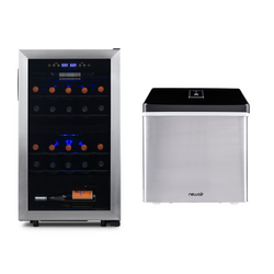 Date Night Wine Fridge & Ice Maker Bundle - NewAir