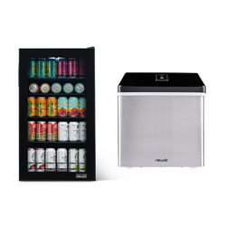 Beer Fridge on the Rocks Bundle - NewAir