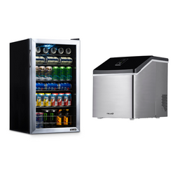 Dry Bar Mini Fridge & Ice Maker Bundle