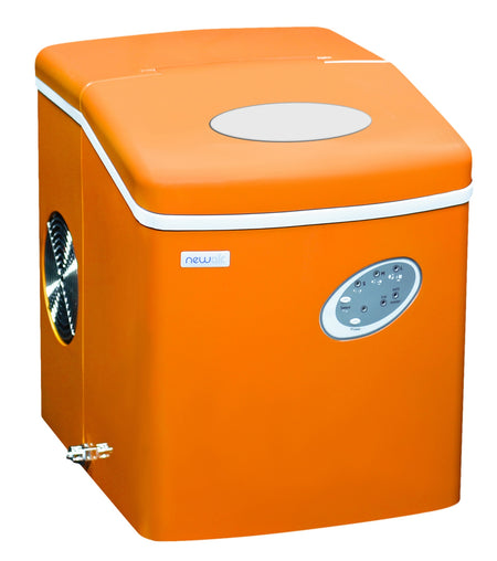 Orange Newair Ice Maker