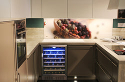 NewAir 52-Bottle Single Zone Compressor Wine Cooler | AWR-520SB