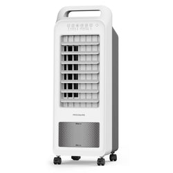 Remanufactured Frigidaire 2-in-1 Personal Evaporative Air Cooler and Fan, 100 sq. ft. with Compact Design & Removable Water Tank