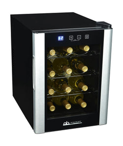 Avalon Bay 12-Bottle Single Zone Thermoelectric Wine Cooler - NewAir